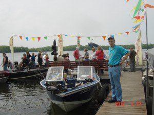 Jeff Stanway, Take a Kid Fishing Day, May 27, 2012.